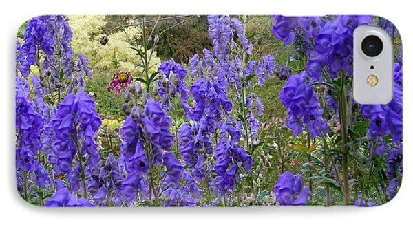 Butchart Gardens Blues IPhone Case