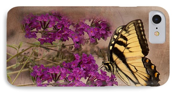Butterfly , Eastern Tiger Swallowtail IPhone Case