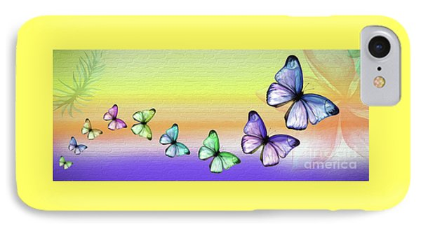 Butterfly Trail 2 By Kaye Menner IPhone Case