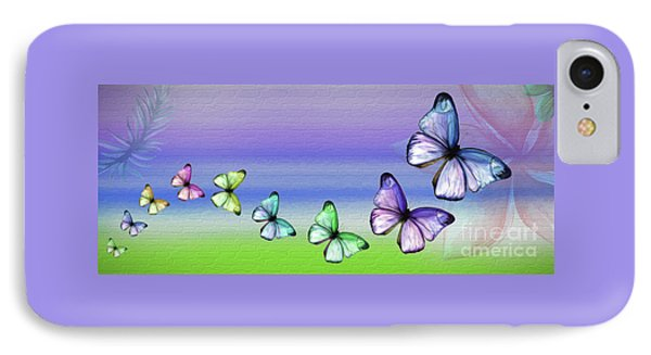 Butterfly Trail By Kaye Menner IPhone Case