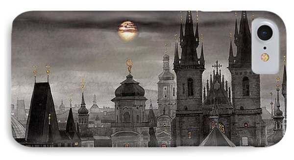 Bw Prague City Of Hundres Spiers IPhone Case