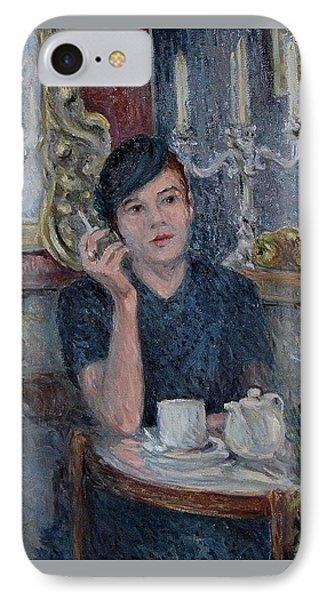 Cafe De Paris  IPhone Case