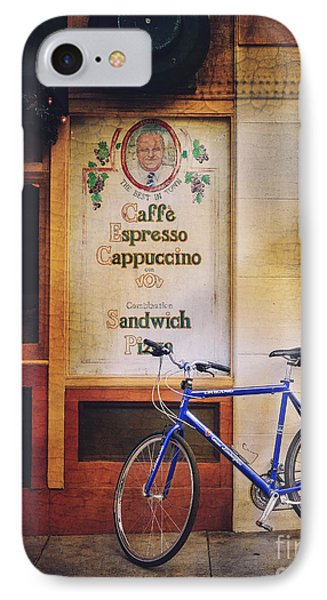 Caffe Expresso Bicycle IPhone Case