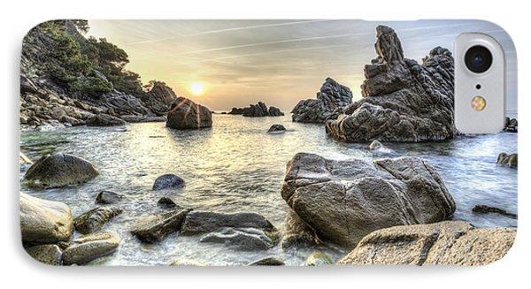 Cala Dels Frares II, Lloret De Mar Catalonia IPhone 8 Case
