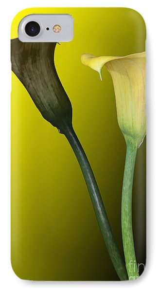Cala Lilies Opposites IPhone Case
