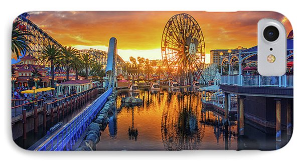 Calfornia Sunset IPhone Case