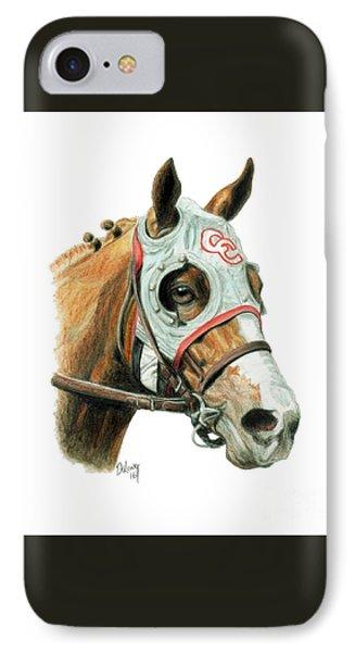 Horse iPhone 8 Case - California Chrome  2016 by Pat DeLong