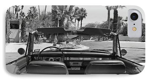 California Cruisin B And W IPhone Case