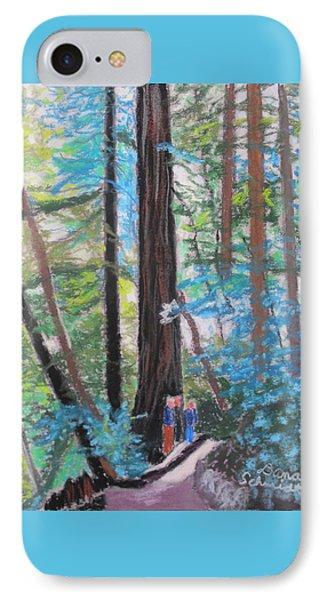 California Redwoods Near San Jose IPhone Case
