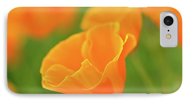 California Spring Poppy Macro Close Up IPhone Case