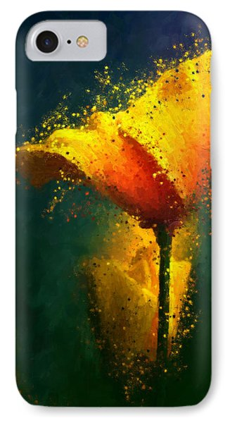 Californian Poppy IPhone Case