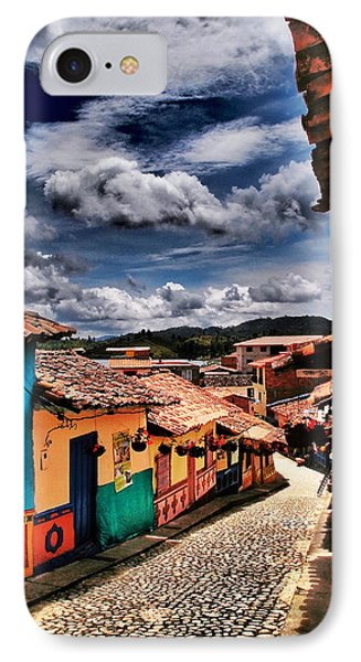 Calle De Colores IPhone Case