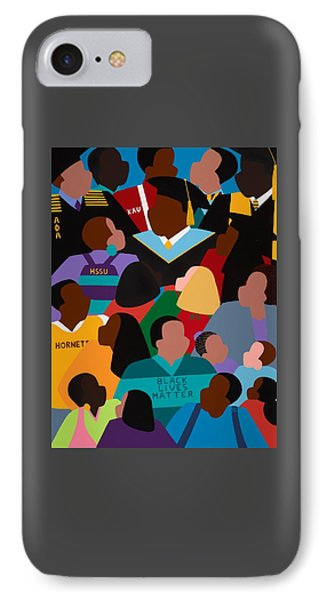 iPhone 8 Case - Called To Serve Inspiring Change by Synthia SAINT JAMES