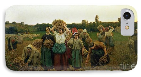 Calling In The Gleaners IPhone Case