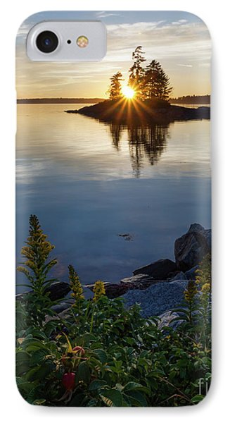 Calm Water At Sunset, Harpswell, Maine -99056-99058 IPhone Case