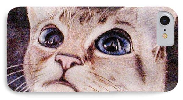 Calvin The Cat IPhone Case