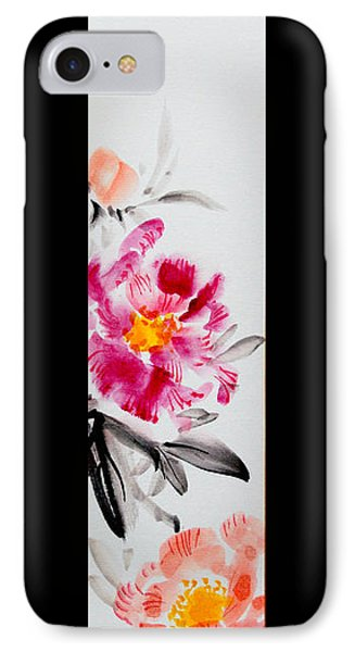 Camellia And Butterfly IPhone Case