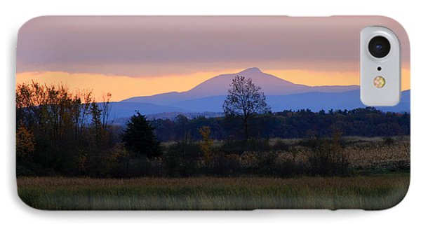 Camel's Hump Mountain From Dead Creek IPhone Case