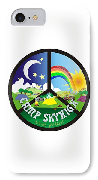 Camp Skyhigh IPhone Case