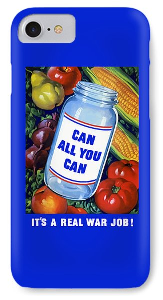 Can All You Can -- Ww2 IPhone Case