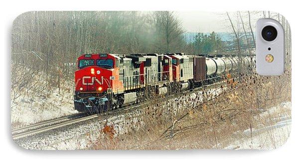 Canadian National Railway Vignette IPhone Case