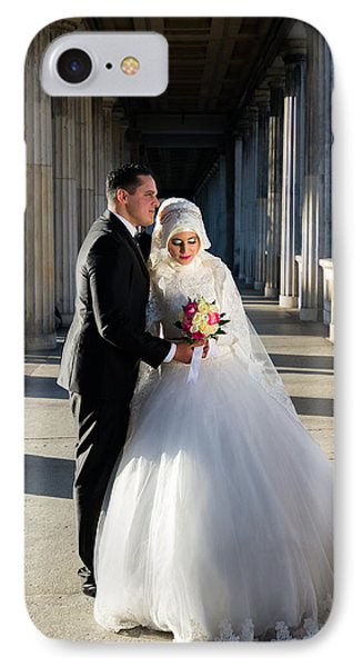Candid Wedding Shot IPhone Case