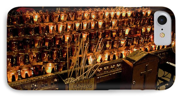 Candle Offerings St. Patrick Cathedral IPhone Case