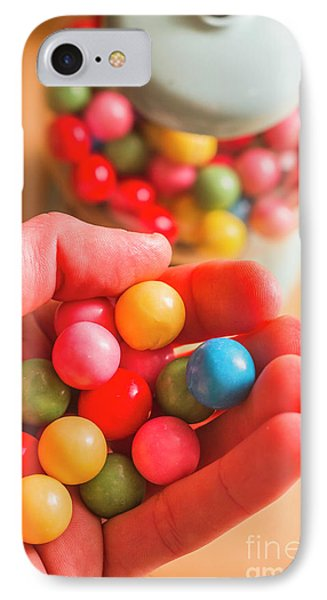 Candy Hand At Lolly Store IPhone Case