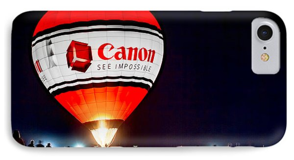 Canon - See Impossible - Hot Air Balloon IPhone Case