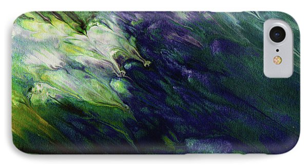Mustard iPhone 8 Case - Canopy 3- Art By Linda Woods by Linda Woods