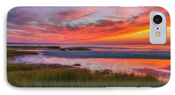 Cape Cod Skaket Beach Sunset IPhone Case