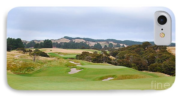 Cape Kidnappers  1 Golf Course New Zealand  IPhone Case