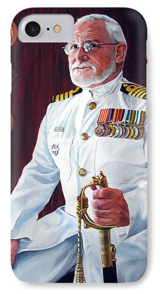 Capt John Lamont IPhone Case