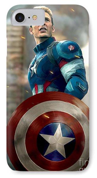 Captain America - No Helmet IPhone Case
