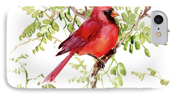 Cardinal Bird IPhone Case