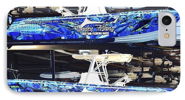 Carey Chen Boat Wraps IPhone Case