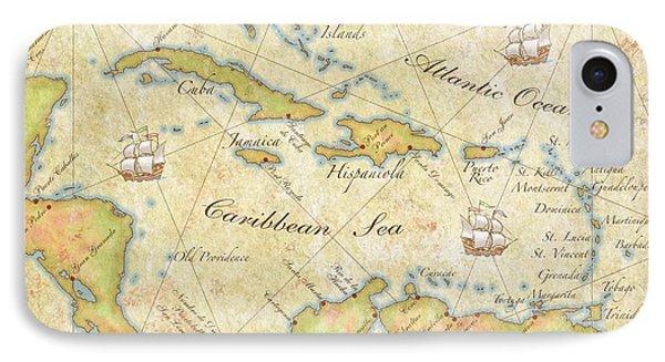 Caribbean Map - Good IPhone Case