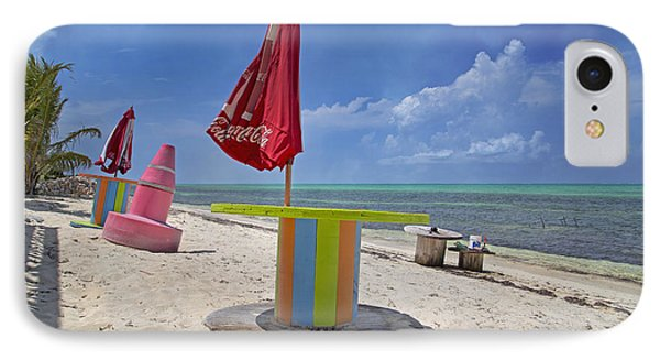 Caribbean Seaside Getaway IPhone Case