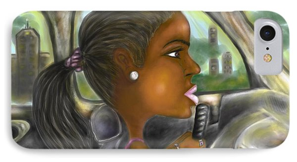Caricature Ride With Jay IPhone Case