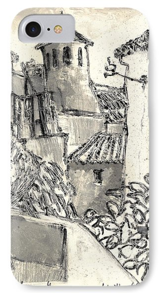 Caromb Village In Provence IPhone Case