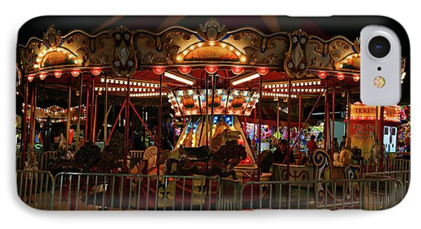 Carousel At Night 2017 2 IPhone Case