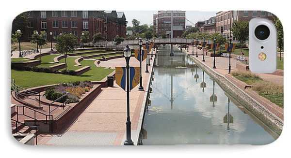 Carroll Creek Park In Frederick Maryland IPhone Case