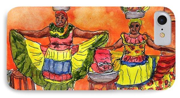 Cartagena Fruit Venders IPhone Case