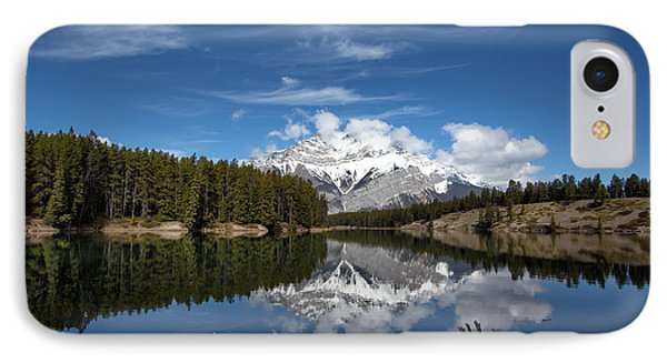 Cascade Mountain Reflections IPhone Case