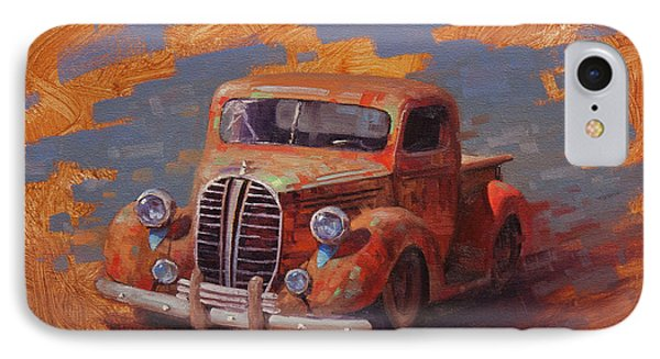 Truck iPhone 8 Case - Cascading Color by Cody DeLong