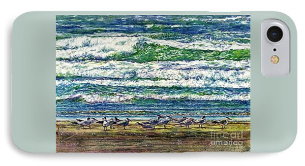 Caspian Terns By The Ocean IPhone Case