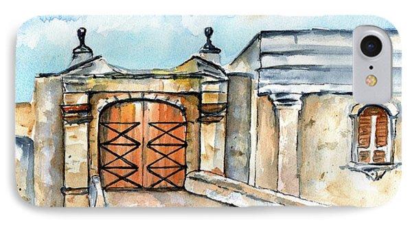 Castillo De San Cristobal Entry Gate IPhone Case