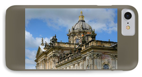 Castle Howard Roofline IPhone Case