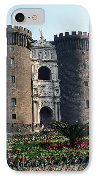 Castle Nuovo Naples Italy IPhone Case