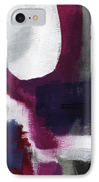 Castle Rock- Abstract Art By Linda Woods IPhone Case